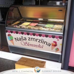 Polep zmrzlina Košice