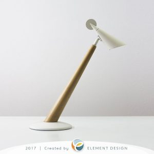 Lampa na stôl - fotenie v atelieri