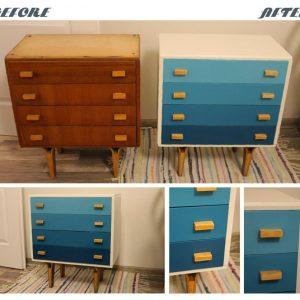 Kreativita Renovácia šuflíka