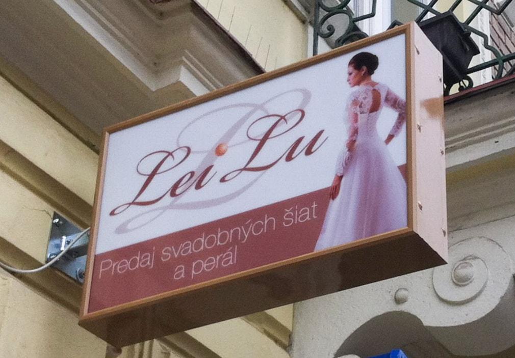 Lei Lu salón - predaj svadobných šiat a perál