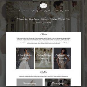 LeiLu webstránka - Profesionálne webové stránky