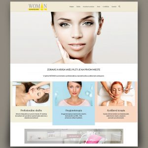 Salon Woman - Profesionálne webové stránky