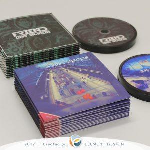 King Shaolin CD obal na mieru