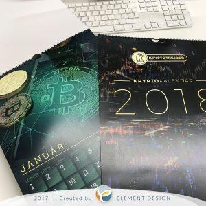 Kryptotrejder - výroba kalendárov Košice
