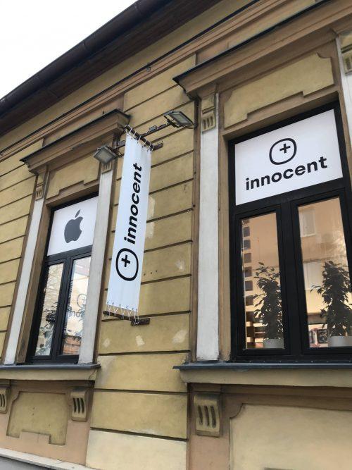 Branding predajne Innocent store