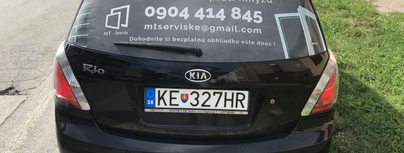Pozrite si ako sme polepili auto pre firmu MT – Servis