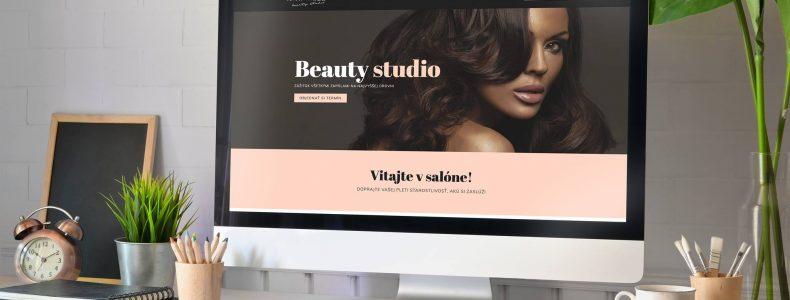 Pre kozmeticky salón Marcélle sme pripravili modernú webstránku.