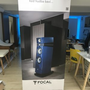 audiofeel roll-up maly banner