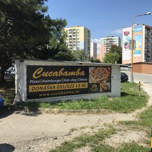 cucabamba velky banner na stenu