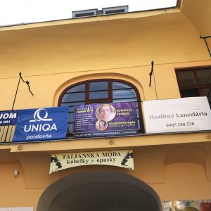 banner na plot Košice